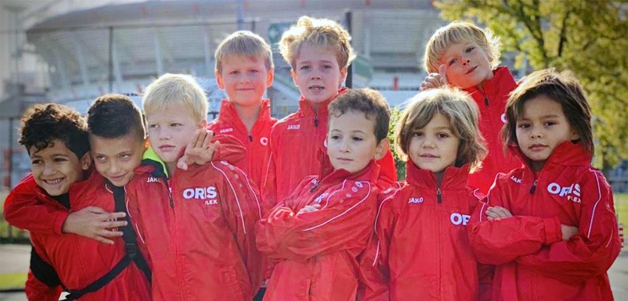 Oris sponsort het Dream Team AFC IJburg